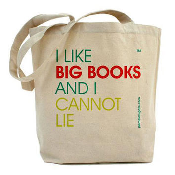 I Like Big Books And I Cannot Lie - Classic Shopper Tote - Free Shipping