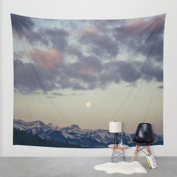 Rocky Mountain Sunrise Wall Tapestry by A Model Photographer