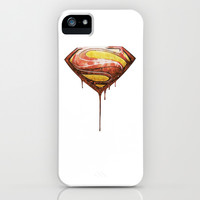 superman iPhone & iPod Case by Beart24