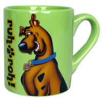 Scooby-Doo Scooby Ruh Roh Mug - Silver Buffalo - Scooby-Doo - Mugs at Entertainment Earth