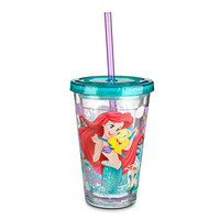 Disney Ariel Tumbler with Straw - Small | Disney Store