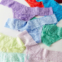 Out From Under Mystical Lace Thong Gift Box   Urban Outfitters