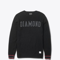 Diamond Supply Co. - College Knit Sweater - Black