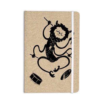 "Anya Volk ""Music Monster"" Brown Fantasy Everything Notebook"