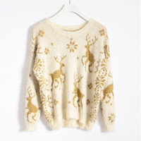 Classical Mohair Sweater(N1118)