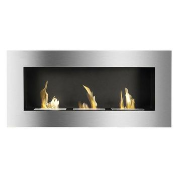 "Ignis Optimum - 59"" Built-in/Wall Mounted Ethanol Fireplace (WMF-013)"