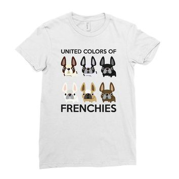 united color of frenchies Ladies Fitted T-Shirt