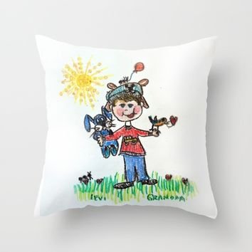 :: You Are My Sunshine :: Throw Pillow by :: GaleStorm Artworks ::