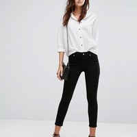A-GOLD-E Sophie High Rise Crop Skinny Jean at asos.com