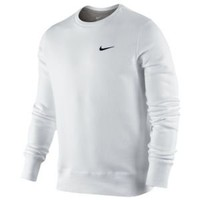 Nike Classic Fleece Swoosh Crew - Men's at Champs Sports