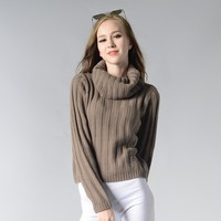 Knit Tops Winter Round-neck Long Sleeve Sweater [188222570522]