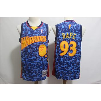 A Bathing Ape 93 x Warriors Swingman Jersey