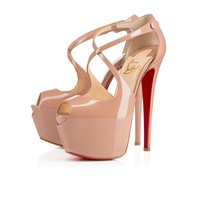 Exagona 160mm Nude Patent Leather