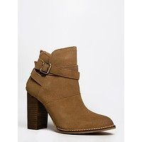 Buckled Ankle Bootie