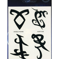 The Mortal Instruments: City Of Bones Runes Temporary Tattoos Pre-Order | Hot Topic