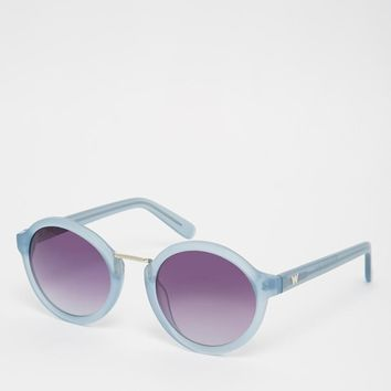 Whistles | Whistles Daria Round Sunglasses at ASOS