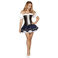Sexy Octoberfest Beer Girl Halloween Costume