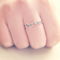 'Fearless' Ring (2 Colors!)