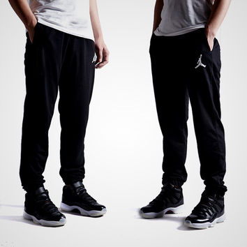 Winter Embroidery Men Cotton Sports Pants [9302715527]