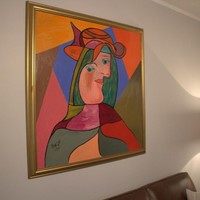 Bernard Blumberg Painting 'Picasso' dated 1995 *Urgent Sale* | Art | Gumtree Australia Melville Area - Willagee | 1062080996