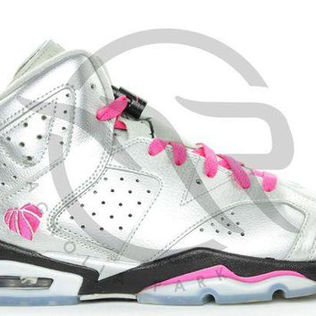 LMFUX5 AIR JORDAN RETRO 6 (GS) - FOR THE LOVE OF THE GAME