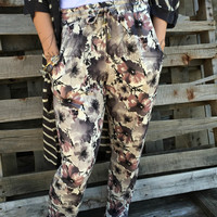 MIDNIGHT GARDEN STROLL PANTS