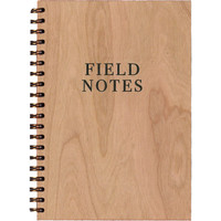 Field Notes Wood Notebook