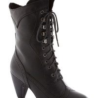 Chocolatiers of Joy Boot in Black | Mod Retro Vintage Boots | ModCloth.com