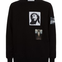 Indie Designs Givenchy Inspired Christ Patch Sweatshirt
