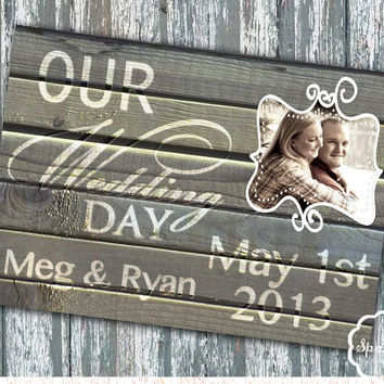 Handmade Rustic Save the Date Wood Lace Printable Save the Date 5x7 Digital DIY Save the Date Wedding Card no.3