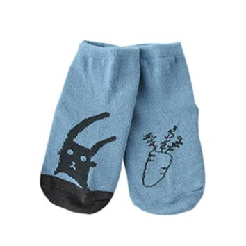 Hot Sale Infant Baby Socks Newborn Boys Girls Cotton Cute Animal Pattern Toddler Anti-slip Floor Warm Socks for Children