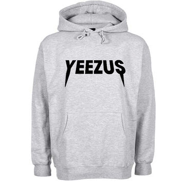 yeezus Hoodie Sweatshirt Sweater Shirt Gray and beauty variant color for Unisex size