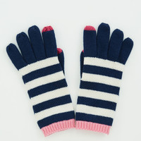 Stripe Texting Gloves