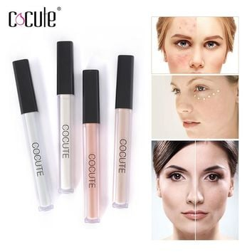 Cocute Face Makeup Concealer Pen Highlight Contour Liquid Pen Face Foundation Brighten Lasting Easy to Wear 4 Color Options