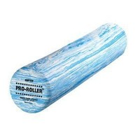 """OPTP Pro Foam Rollers - Full Round 36"""" x 6"""" Blue Marble"""