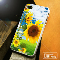 Sunflower Beautiful iPhone 4 5 5C SE 6 Plus Case