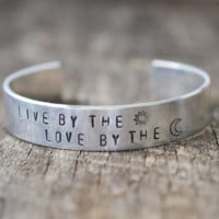 Live By The Sun Love By the Moon Cuff Bracelet