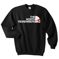 The North Remembers - GOT Crew-neck Sweatshirt - Mother Of Dragons