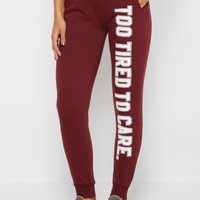 Too Tired To Care Jogger | Joggers & Sweatpants | rue21