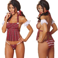 Cute On Sale Hot Deal Sexy Uniform Exotic Lingerie [6595474115]