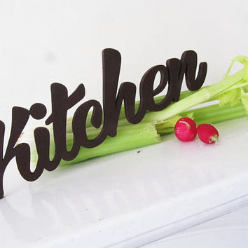 Kitchen Decor, Door Sign,  Newcomers Gift, Kitchen decor, Cafe, Restarant, Handmade Wood Sign, Party Decor