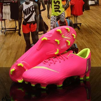 Nike Mercurial Vapor XII 12 360 Elite FG Multi Ground Soccer Cleat Pink Shoes