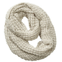 Cream Cosy Snood at debenhams.com