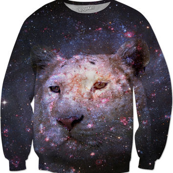 Tiger and Galaxy Sweatshirt
