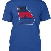 Men's Georgia Kayak Fishing T-Shirt