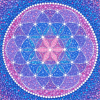 Starry Flower of Life