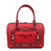 REESE STUDDED EMBELLISHED BOSTON BAG - NEW ARRIVALS