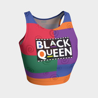 Black Queen - Crop Top