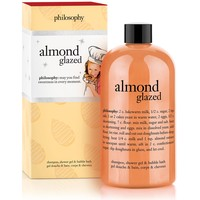 almond glazed | shampoo, shower gel & bubble bath | philosophy new!