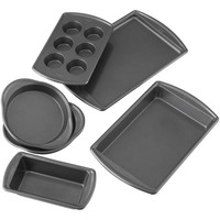 Wilton® Advance Select Premium Nonstick™ 6-Piece Bakeware Set in Gunmetal